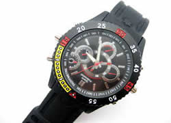 8G Motion Detection Waterproof Watch Spy Camera